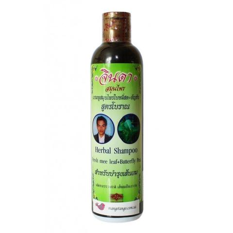 Jinda Тайский шампунь от выпадения волос Herbal Hair Shampoo, 250 мл
