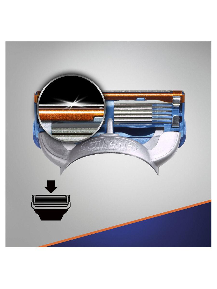 Кассеты Gillette Fusion 4шт.(ЭКОНОМ)