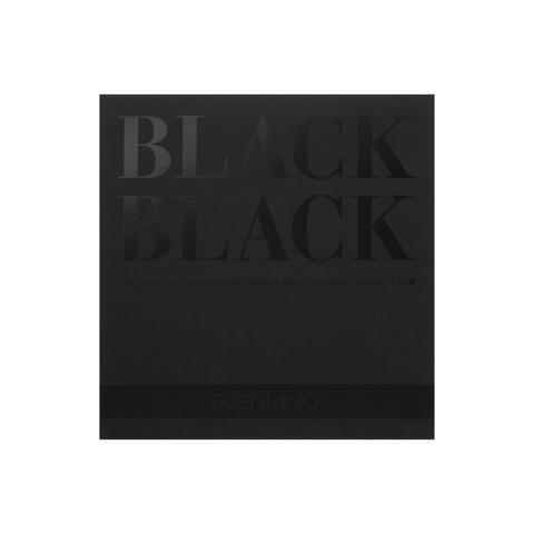 Альбом Black Black, 20 х 20 см, 20 л., склейка по короткой стороне