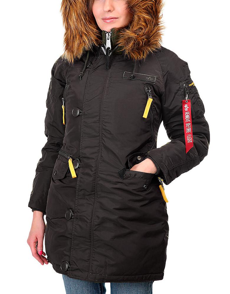 Куртка Аляска Женская - PPS N3B WMN (черная - 03 black)