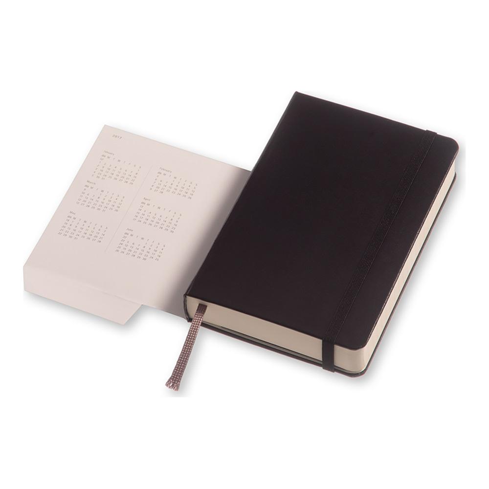 Еженедельник Moleskine Classic Wknt Pocket, цвет черный