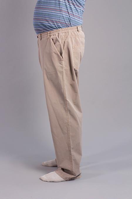 Лекала мужских брюк вид сбоку