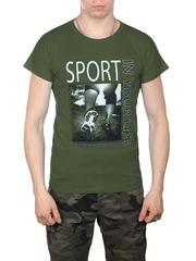 0714-8 футболка мужская, хаки