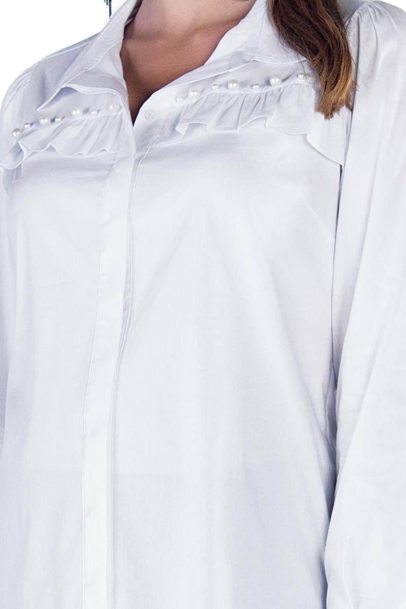 Блузка 09849 белый