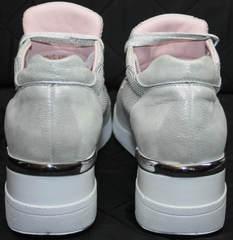 Кроссовки для повседневной носки Topas 4C-8045 Silver.