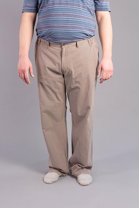 Лекала мужских брюк большого размера