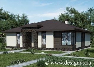 """Архбюро Дизайнус Одноэтажный дом """"Original"""" 172 кв.м. image-17.jpeg"""