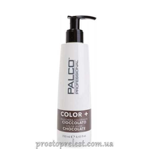 Palco Professional Color + Color Mask Chocolate - Питательная тонирующая маска для волос Шоколад