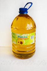 Асекеевское масло подсолнечное масло нерафинированное 5л
