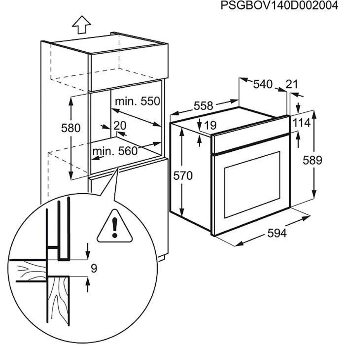 Духовой шкаф Electrolux EZB52410AW