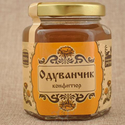 Конфитюр из одуванчика Сибирский Знахарь, 200г