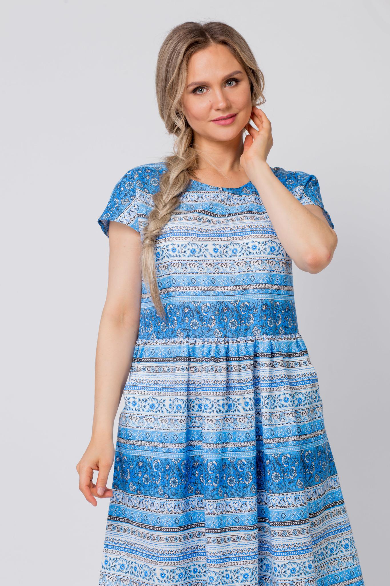 Платье Летний сон приближенный фрагмент