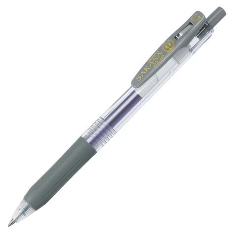 Ручка гелевая Zebra Sarasa Clip 0.7 Gray - серый