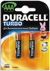 Duracell Turbo AAA