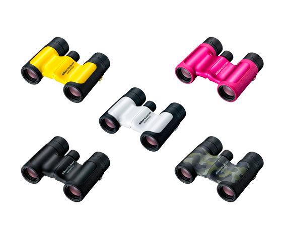 серия компактных биноклей  Nikon Aculon W10