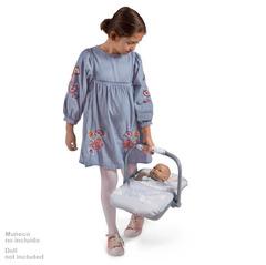 DeCuevas Стульчик для куклы переносной в наборе с аксессуарами серии