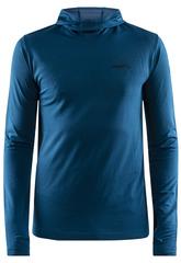Рубашка беговая Craft Core Fuseknit с капюшоном мужская