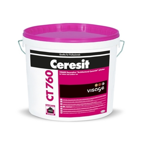 Ceresit CT 760 VISAGE/Церезит ЦТ 760 ВИЗАЖ декоративная штукатурка