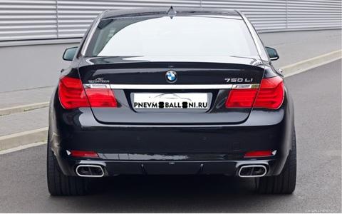 BMW 7 series F01 / F02 / F03 / F04 Ремонт Задней Пневмоподвески