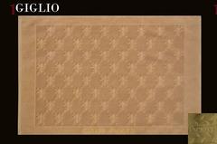 Коврик для ванной 70х120 Cesare Paciotti Giglio-Poker золотой