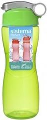 Спортивная бутылка для воды Sistema Hydrate, зеленая 645 мл
