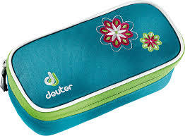 Пеналы для школы Пенал для школы Deuter School Pencil Case petrol flower Без_названия.jpg