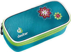 Пенал для школы Deuter School Pencil Case petrol flower