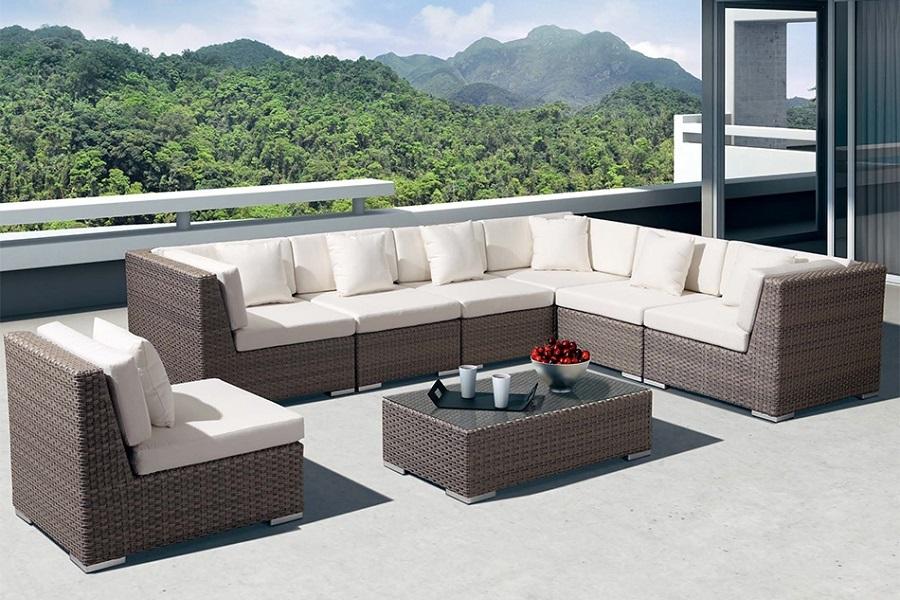 Модульный угловой диван «Беллуно» со столиком