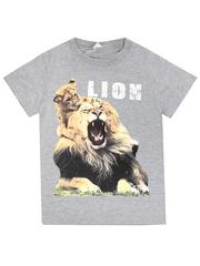 BK003-17 футболка детская, серая