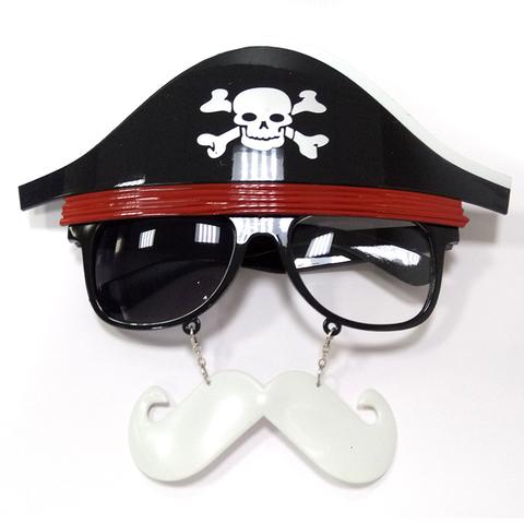 Очки Пиратские с усами