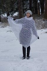 Оренбургский пуховый платок 67 фото 2