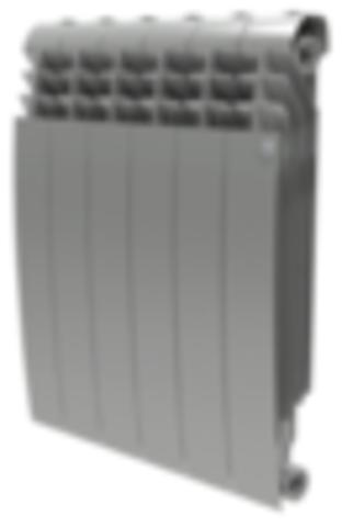Радиатор Royal Thermo BiLiner 500 Silver Satin - 10 секций