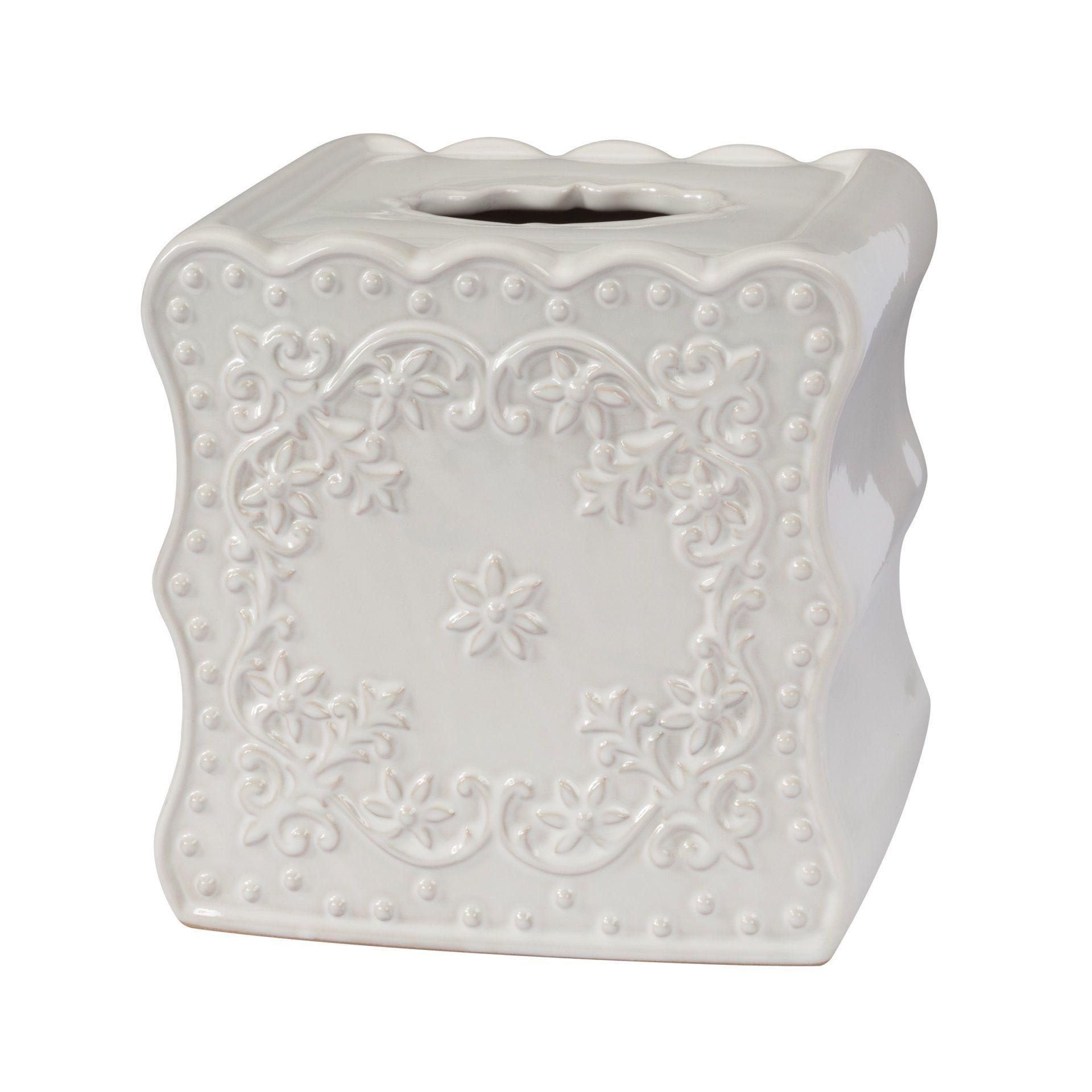Салфетницы Салфетница Creative Bath Ruffles salfetnitsa-ruffles-ot-creative-bath-ssha-kitay.jpg