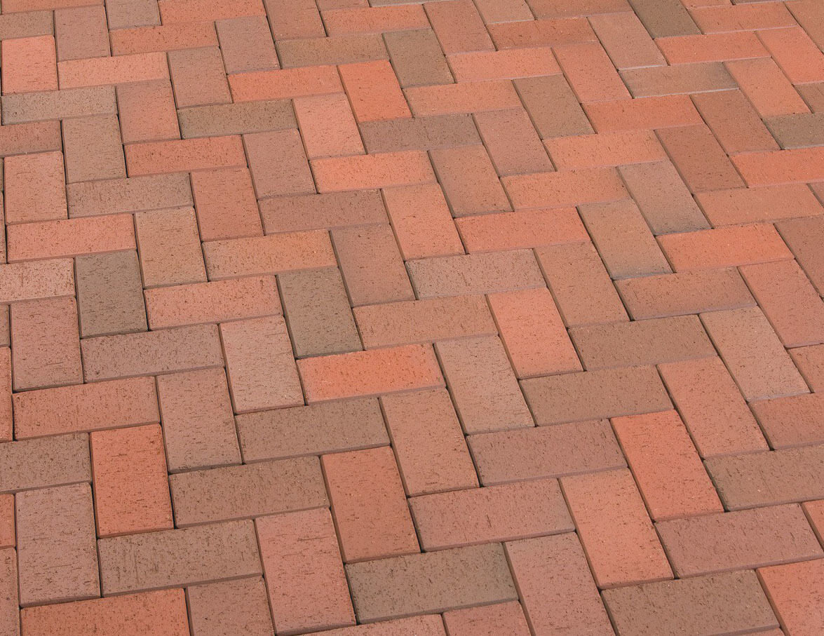 Клинкерная тротуарная плитка Feldhaus Klinker, P403KF,