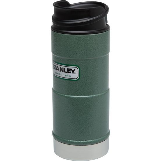 Термокружка Stanley Classic (0,35 л.) 1-Hand, темно-зеленая