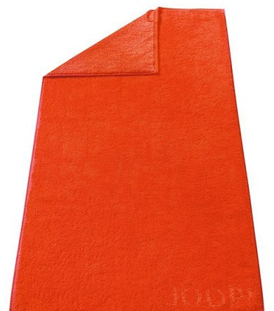 Полотенце 50х100 Cawo-JOOP! Doubleface 1600 оранжевое