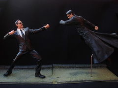 Matrix Series 2 - Neo vs Agent Smith