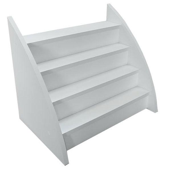 Маникюрные столы и аксессуары Полка для лаков для ногтей, модель №1 Полка-для-лаков-белая.jpg