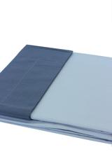 Постельное белье 2 спальное евро Caleffi Bicolor антрацит