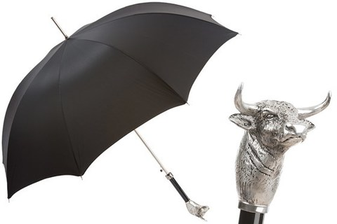Зонт-трость Pasotti Bull Umbrella, Италия (арт.478 Oxf-18 K57V)