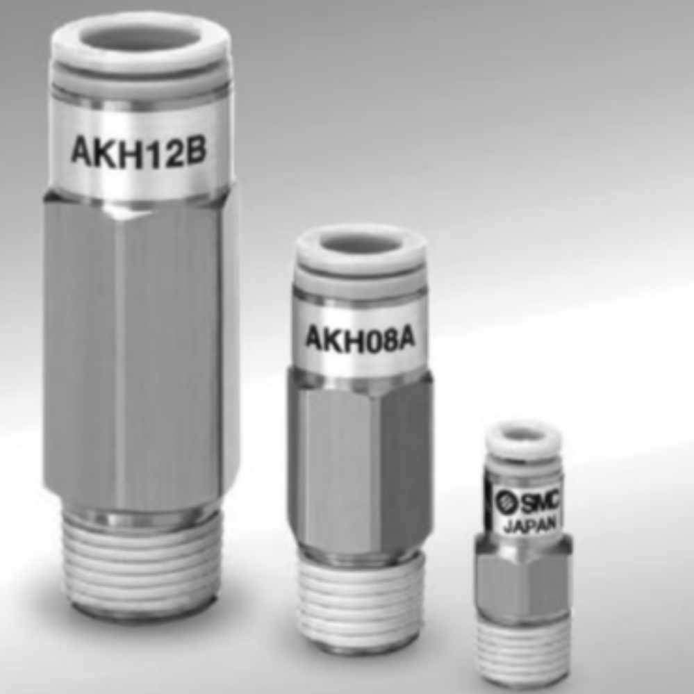 AKH08B-01S  Обратный клапан, R1/8
