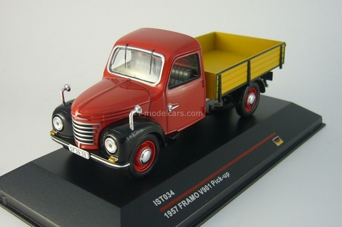 Framo V901 Pick-Up red-black 1957 IST034 IST Models 1:43