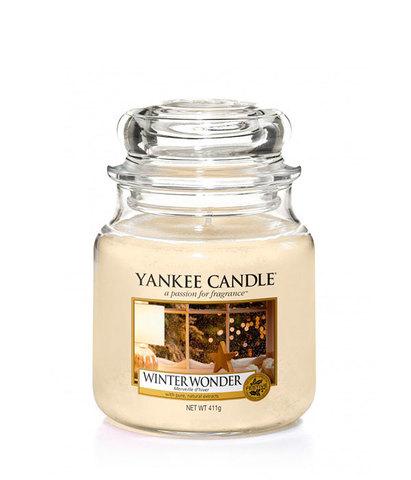 Ароматическая свеча Новогоднее чудо, Yankee Candle