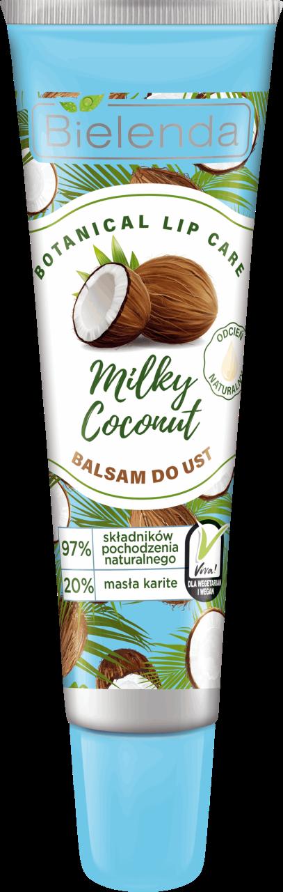 BOTANICAL LIP CARE Бальзам для губ Кокосовое молоко 10г