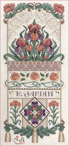 Набор для вышивания Ирисы. Арт.8014