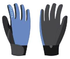 Перчатки Nordski Racing Blue WS
