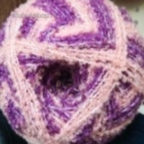 Фото Пряжа Суперфантазийная цвет 1021 Розово-сиреневый меланж Пехорка - купить в интернет-магазине Клубок Шоп