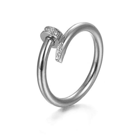 Кольцо Cartier White Gold Diamonds