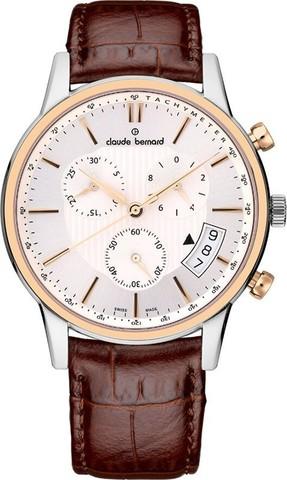 Купить мужские наручные часы Claude Bernard 01002 357R AIR по доступной цене