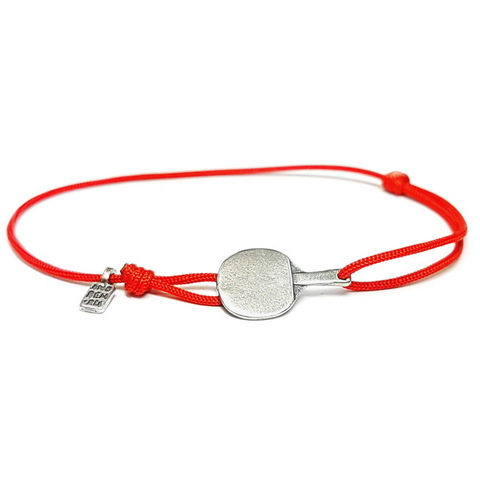 Ping pong bracelet, Sterling Silver